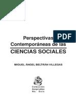 Ciencias sociales. Miguel Ángel Beltran