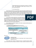 Written Report on Sleep Disorders