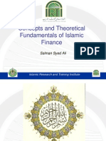 Conceptual and Theoretical Fundamentals of Islamic Finance as a Subject of Study