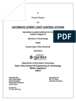 Automatic Street Light Control Using Ldr Circuit Diagram | Automatic Street Light Control Project Microcontroller Pic
