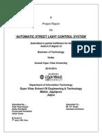 Automatic Street Light Control Using Ldr