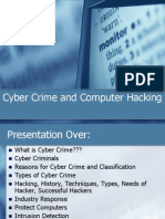 Cybercrime and Computer Hacking