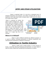 Steam Utilization in Textile Induastry