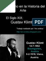 Gustav Klimt. El erotismo en la Hª del Arte