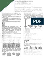 Evaluacion de Solucion de Problemas Grado 11