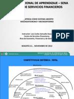 0. Resumen Macro y Microambiente-Empresa Sistema Abierto