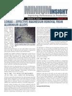 Aluminium Insight 2011-02 Lomag Mag Removal