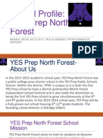 school profile yes prep north forest