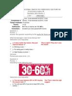 Evaluacion Nacional Ingles IV Corregido 200 Puntos
