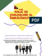 ROLUL DE COMUNICARE AL ÎMBRĂCĂMINTEI