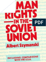 Human Rights in the Soviet Union