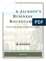 Business Roundtable Report