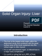 Solid Organ Injury - Liver