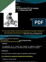 Presentación N°18 PSU De Lenguaje y Comunicación - Conectores III Conjunciones