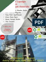 Presentasi tata letak proyek lapangan dan organisasi proyek (proyek askes by pt. adhi karya)