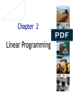 Chapter 2 - Linear Programming