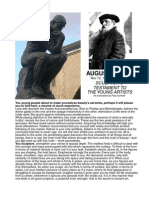 Rodin's Testament