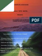 FILOSOFIA DE LA EDUCACIÓN 1