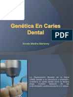 Biologia Molecular en Caries Dental
