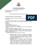 7ª Atividade de Legislação Tributaria e Politica Financeira