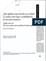 Correa Montoya_2010_Significado Derecho a La Ciudad
