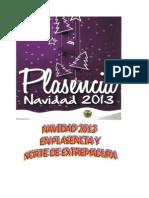 Programa de Navidad en Plasencia 2013-14