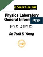 Physics Lab Geninfo