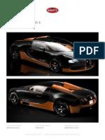 Bugatti Veyron 16.4 Brochure
