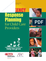 Child Care Emergency Response Manual