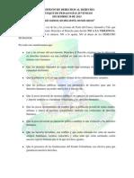 Manifiesto Derechos Al Derecho Diciembre 10 de 2013