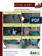 155 Bsu Best Practice Alert - Confined Space Rescue Drill
