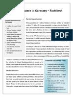 Islamic Finance in Germany Factsheet