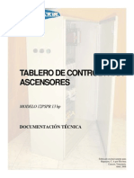 Tablero de Ascensor