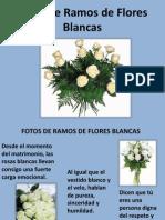 Fotos de Ramos de Flores Blancas _ A5