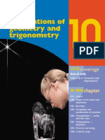 Application of Geometry and Trigonometry