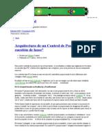 """Arquitectura de un Control de Posición _ """"Una cuestión de lazos"""" _Motion Control"""