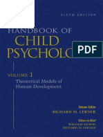 Handbook of Child Psychology V