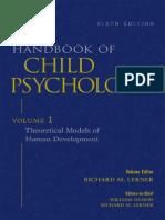Handbook of Child Psychology V