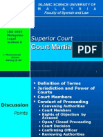 8 Court Martial 2007
