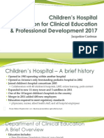 Clinical Education 2017
