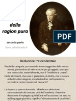 Kant - Critica Della Ragion Pura (Seconda Parte)