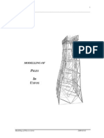 Modelling of Piles in usfos