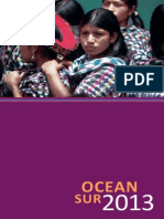 Catalogo Ocean Sur 2013