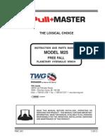 Model m25 Free Fall Service Manual
