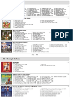 iTunes - M3 Listing of Songs on CD Collection