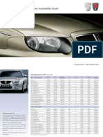 Rover 75 Price List