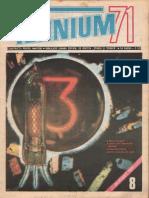 tehnium 1971 nr.8