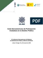 Carta Iberoamericana Participacin Ciudadana