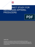 End Market Study for Indonesia Apparel