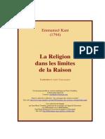 kant - La religion dans les limites de la raison.pdf
